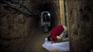 Túnel em Gaza