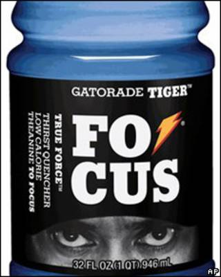 Bebida Gatorade Tiger Focus