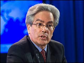O secretário-assistente dos Estados Unidos para a América Latina, Arturo Valenzuela