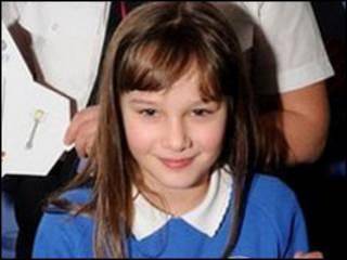 10岁小女孩艾米·温特里支