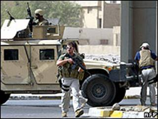 Guardias de Blackwater en Irak