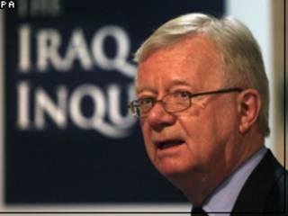 رئيس لجنة تحقيق حرب العراق