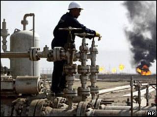 Yacimientos de petróleo en Irak