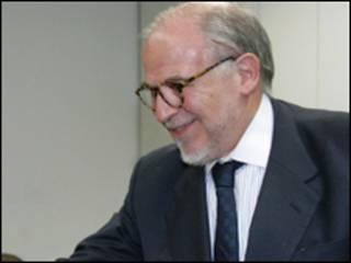 O assessor especial para Assuntos Internacionais da Presidência, Marco Aurélio Garcia