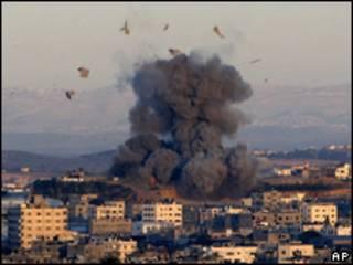 Ofensiva militar contra Gaza.