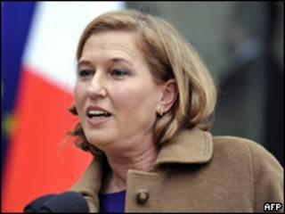 Tzipi Livni, ex canciller de Israel