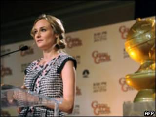 Актриса Дайана Крюгер объявляет номинантов