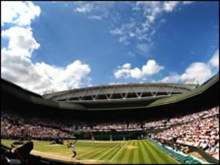 Lapangan tenis Wimbledon
