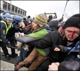 درگیری در اطراف اجلاس کپنهاگ