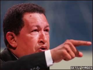 Presidente Hugo Chávez (arquivo)
