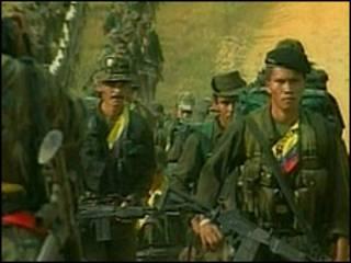 Guerrilheiros das Farc (foto de arquivo)