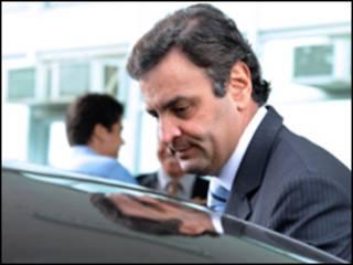O governador de Minas Gerais, Aécio Neves (Foto: Elza Fiúza/ABr/ 26 de agosto de 2009)