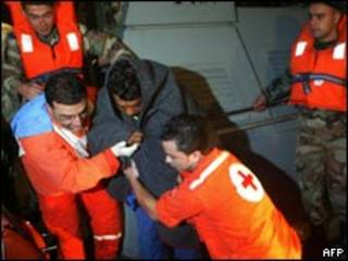 Спасательная операция у берегов Ливана