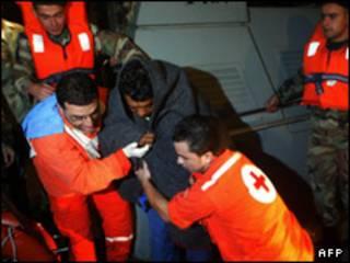 نجات یکی از سرنشینان کشتی دنی اف 2