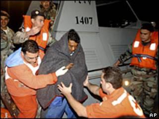 Rescatado en Líbano.