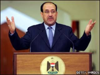 رئيس الوزراء العراقي، نوري المالكي