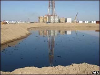 Нефтяная скважина в Ираке