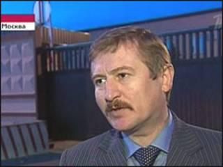 Бывший начальник управления СКП по Москве Анатолий Багмет (кадр Первого канала)