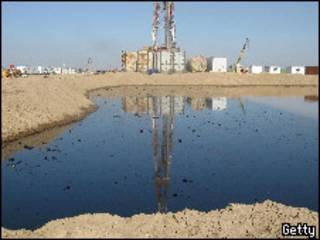 حقل عراقي في محافظة ميسان