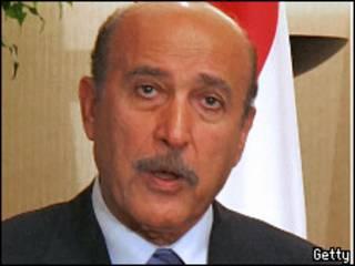 مدير المخابرات المصرية، اللواء عمر سليمان