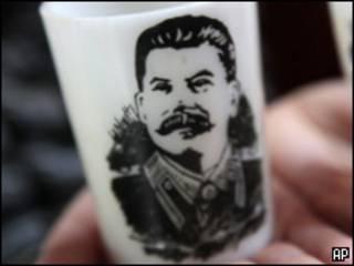 Чашка с портретом  Сталина