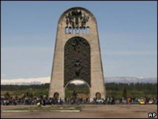 Военный монумент в Кутаиси