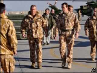 قوات بريطانية في أفغانستان