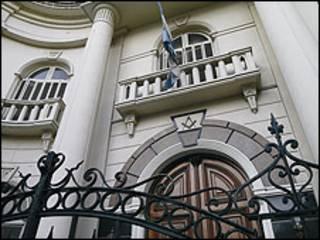 Gran Templo Masónico en Buenos Aires. Foto gentileza: Gran Logia de la Argentina de Libres y Aceptados Masones