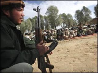 अफ़ग़ान सुरक्षाकर्मी