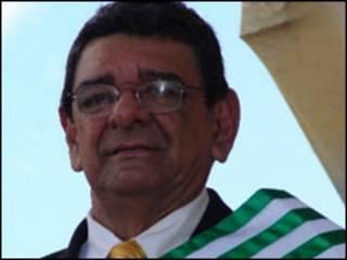El gobernador del departamento del Caquetá, Luis Fernando Cuéllar (Foto cortesía revista Semana)