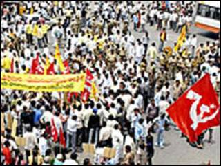 पश्चिम बंगाल चुनावी रैली