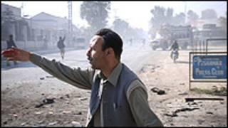 पेशावर प्रेस क्लब में विस्फोट (फ़ाइल फ़ोटो)