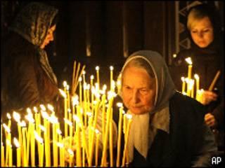 В православной церкви