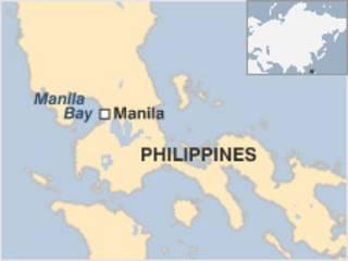 Bản đồ Vịnh Manila