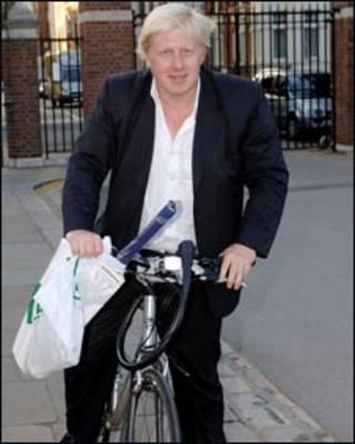 伦敦市长约翰逊