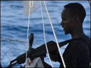 دزد دریایی سومالیایی