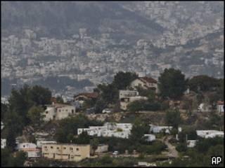 مستوطنة في الضفة الغربية قرب نابلس