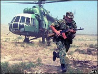 Таджикский военный