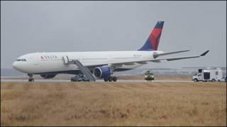 डेल्टा एयरलाइंस का विमान