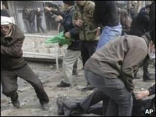 Manifestação da oposição em Teerã