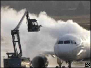Самолет компании Delta
