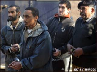اعتقال الأمريكيين الخمسة في باكستان