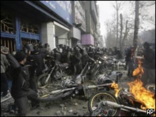 Protesto no Irã