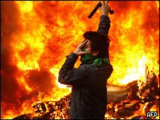 مظاهرات في طهران