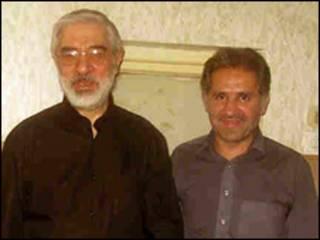 میرحسین موسوی و خواهرزاده اش