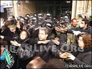 حوادث روز عاشورای تهران
