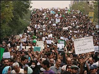 درگیری های پس از انتخابات در ایران