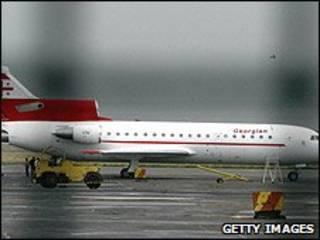 هواپیمای متعلق به خطوط هوایی گرجستان
