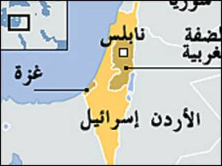 خارطة اسرائيل
