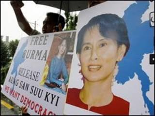Người ủng hộ bà Suu Kyi tại Seoul